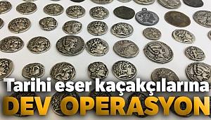 İstanbul'da tarihi eser kaçakçılarına operasyon: 912 adet sikke ele geçirildi