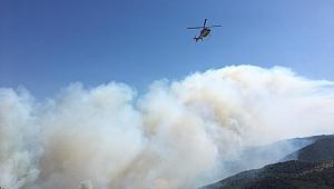 İzmir'de iki köy yangın nedeni ile boşaltılıyor