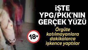 PKK'nın örgüte katılmayanlara yaptığı işkence görüntülendi (+18)