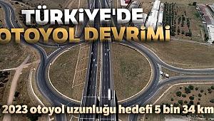 Türkiye'de otoyol devrimi