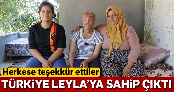 Türkiye Leyla'ya sahip çıktı