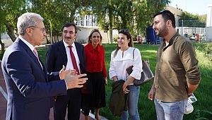 AK Parti Genel Başkan Yardımcısı Yılmaz, Budak'ı ziyaret etti