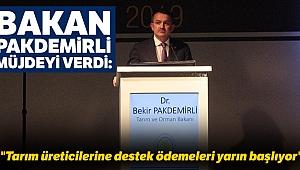 Bakan Pakdemirli müjdeyi verdi: