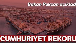 Bakan Pekcan ihracat rakamlarını açıkladı