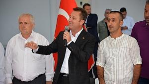 Başkan Aksoy pazarcılarla olan tartışmaya nokta koydu