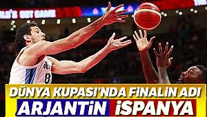 Basketbol Dünya Kupası'nda finalin adı: Arjantin-İspanya