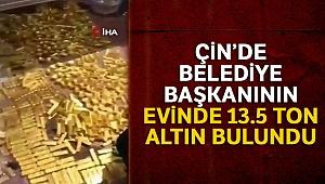 Belediye başkanının evinde 13.5 ton altın bulundu
