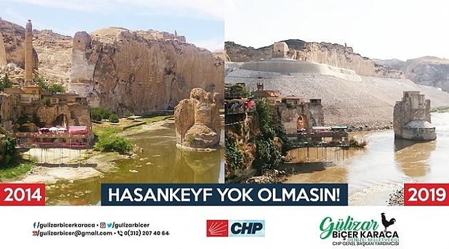 CHP'den Hasankeyf Çağrısı