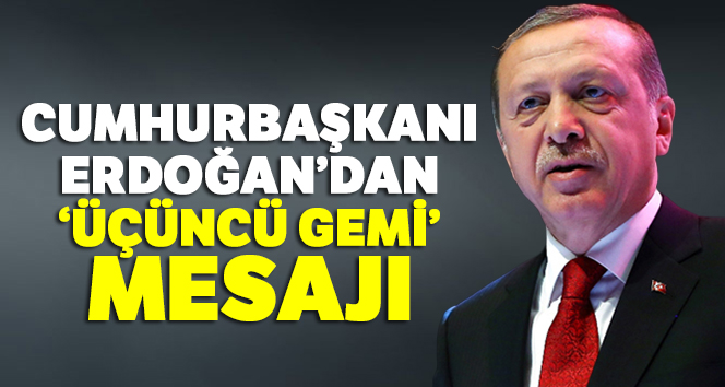 Cumhurbaşkanı Erdoğan: 'Güvenli bölge olmazsa kapıları açmak zorunda kalırız'