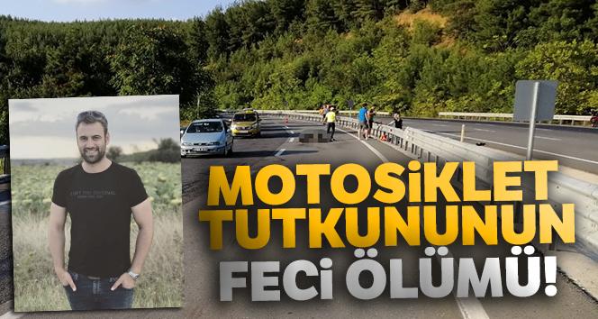 Edirne-Çanakkale yolunda motosiklet tutkununun feci ölümü