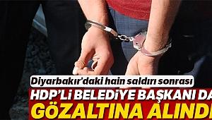 Hain saldırının ardından HDP'li Kulp Belediye Başkanı da gözaltına alındı