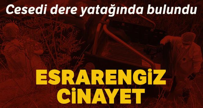 Hatay'da esrarengiz cinayet