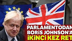 İngiliz Parlamentosu Johnson'un erken seçim talebini ikinci kez reddetti