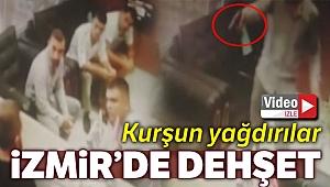 İzmir'de dehşet anları