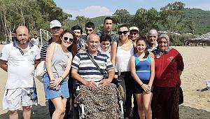 Kemalpaşalı Engelliler Engelsiz Kamp'ta