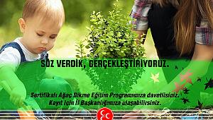 MHP İzmir'den Orman Eğitimi