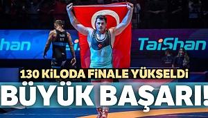 Rıza Kayaalp Dünya Güreş Şampiyonası'nda finale yükseldi!