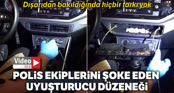 Sarıyer'de polis ekiplerini şoke eden uyuşturucu düzeneği