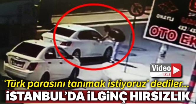 'Türk parasını tanımak istiyoruz' diyerek, öğrencinin 600 lirasını çaldılar