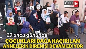 Annelerin HDP önündeki evlat nöbeti 29'uncu gününde
