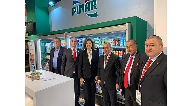 Anuga Fuarı'nda Pınar'a yoğun ilgi