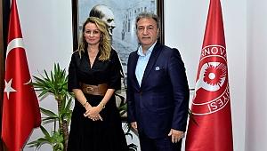 BASİFED'ten Başkan İduğ'a ziyaret