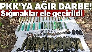 Bingöl'de PKK'ya ağır darbe: 13 sığınak ve depo imha edildi, çok sayıda mühimmat ele geçirildi
