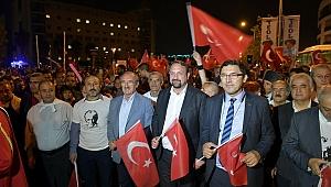 Çiğli'de Coşkulu Cumhuriyet Kutlaması