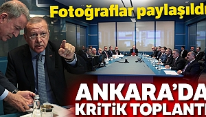 Cumhurbaşkanı Erdoğan başkanlığında Barış Pınarı Harekatı koordinasyon toplantısı yapıldı