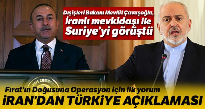 Fırat'ın Doğusuna Operasyon için ilk yorum! İran'dan Türkiye açıklaması