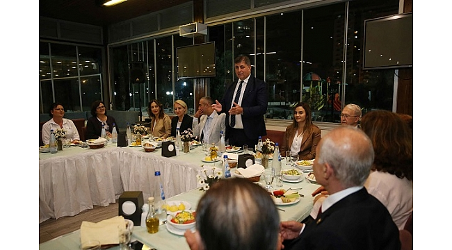 Karşıyaka'da 'Muhtarlar Günü' buluşması