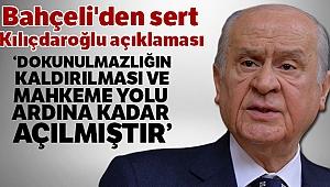 MHP Lideri Bahçeli'den Kılıçdaroğlu açıklaması