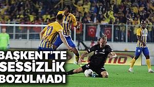 Ankaragücü 0 - 0 Beşiktaş