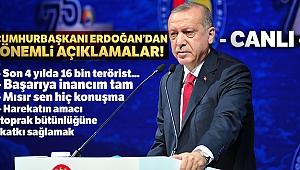 SON DAKİKA... Cumhurbaşkanı Erdoğan'dan önemli açıklamalar!