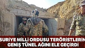 Suriye Milli Ordusu PYD/PKK'nın geniş tünel ağını kontrol altına aldı
