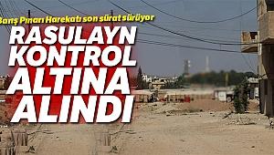 Suriye Milli Ordusu, Rasulayn'ı kontrol altına aldı