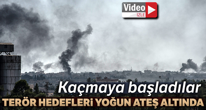 Tel Abyad yoğun bombardıman altında