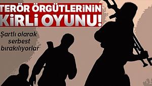 Terör örgütü PYD/YPG/PKK'nın kirli oyunu