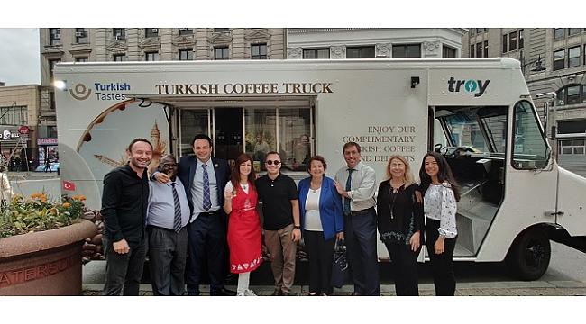 Türk lezzetleri Amerikalılara Türk kahvesiyle tanıtıldı