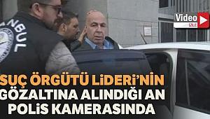 Ayvaz Korkmaz'ın gözaltına alındığı anlar polis kamerasında