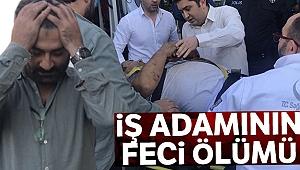 Beşiktaş'ta şirketinin 4. katından düşen iş adamı hayatını kaybetti