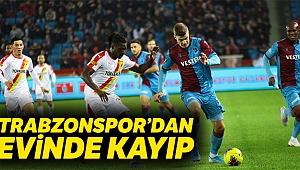 Göztepe,Trabzonspor'u dize getirdi