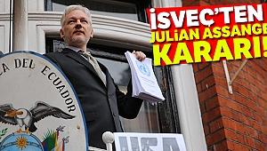 İsveç, Assange hakkındaki tecavüz soruşturmasına son verdi