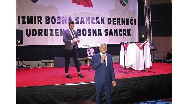 İzmir Bosna Sancak Derneği 24.Kuruluş Yılını Kutladı