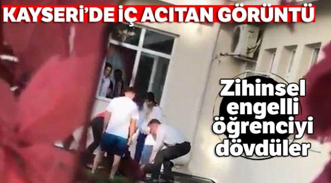 Kayseri'de iç acıtan görüntü