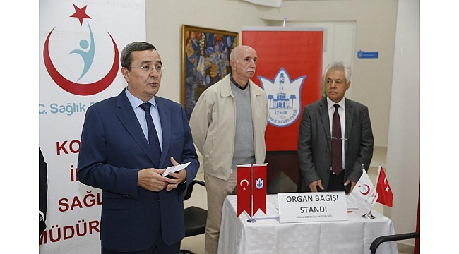 Konak'ta Organ Bağışı Haftası'nda örnek kampanya