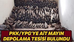 MSB: 'PKK/YPG'ye ait mayın eğitim ve depolama tesisi bulundu'