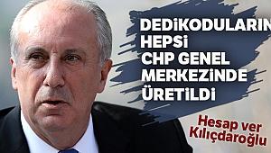 Muharrem İnce 'komplo' dedi, CHP Genel Merkezini işaret etti