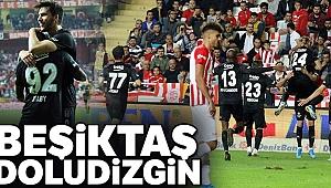 Beşiktaş dolu dizgin