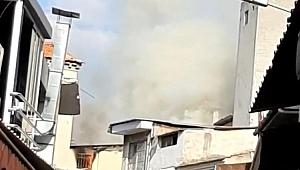 Tarihi Kemeraltı Çarşısı'nda yangın paniği